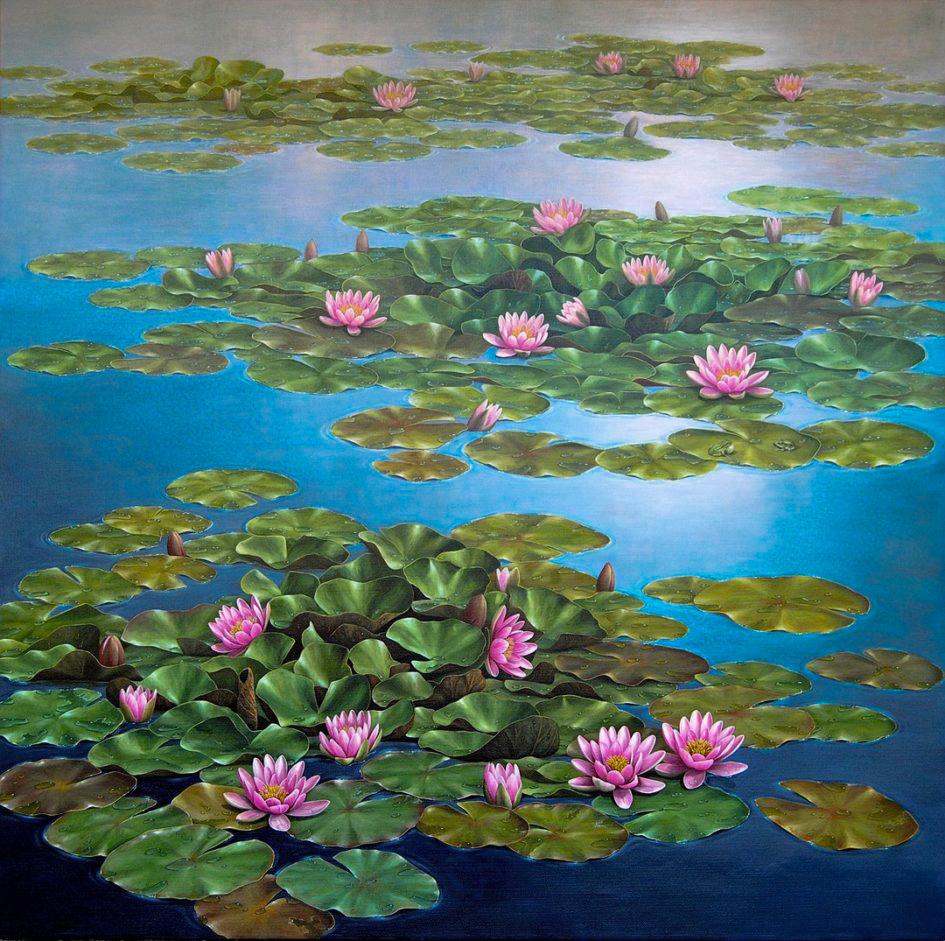 Monet water lilies - ninfee
